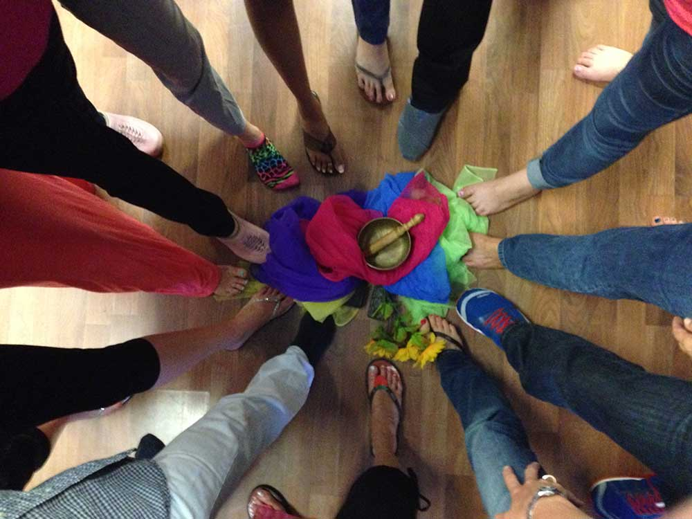 sociometry foot circle - action institute of california - psychodrama training institute in north san diego county california
